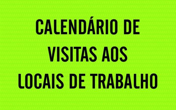 SINDETRAN NA CATEGORIA: VISITAS SEMANA 11/02 A 15/02.